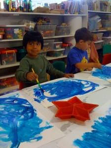 Painting an ocean