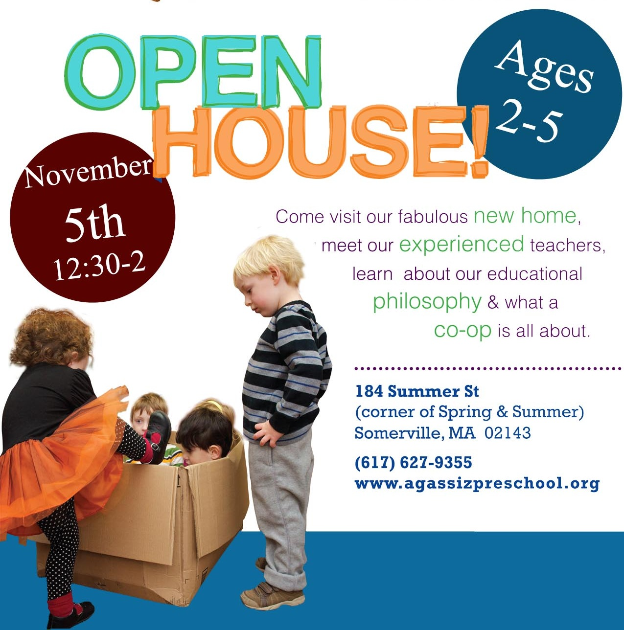 Agassiz open house Nov 5 2013