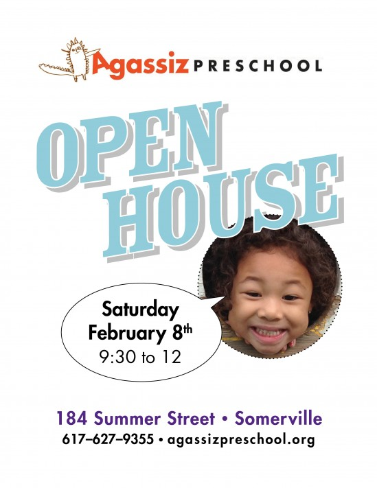Open House February 8 2014 9:30am-noon