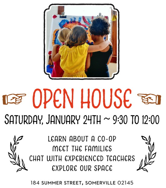 Open House January 24