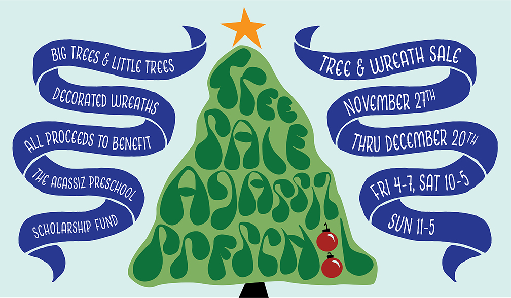 Agassiz Preschool Tree Sale November 27-December 20